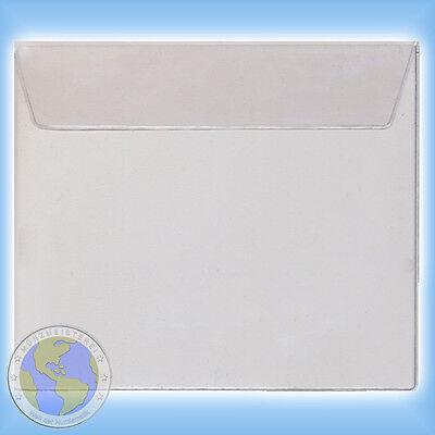 5x Kunststoff Schutzhülle Für Kms Kursmünzensatz Vatikan Folder 2002 2018