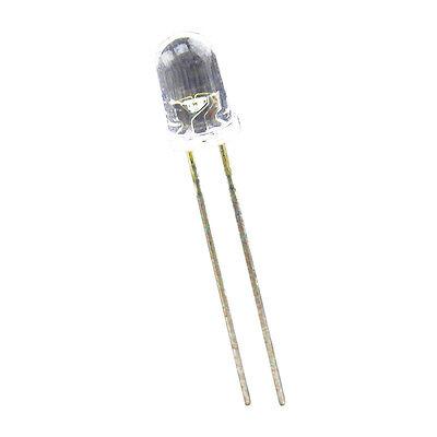 100 pcs 5mm Superbright White Round LED 20000 mcd