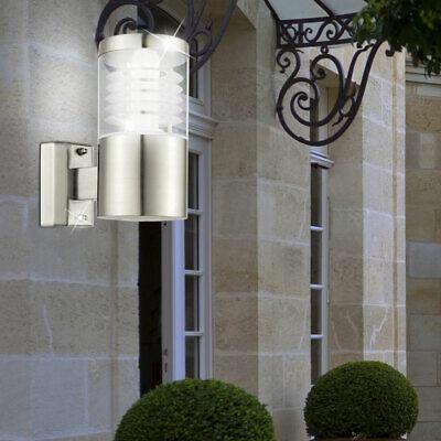 Diseño Lámpara Exterior Puerta Casa Balcón Iluminación Inox E27 Jardín Pared Luz