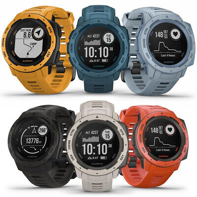 Garmin Instinct Rugged Outdoor GPS Watch | CHOOSE YOUR COLOR | BRAND (Instinct Watch)
