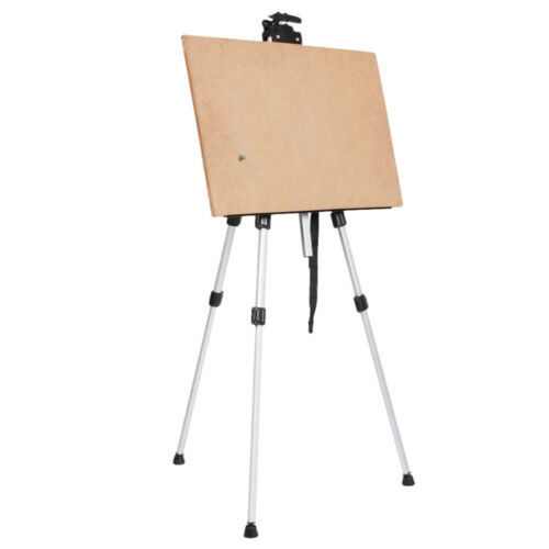 new easel aluminum sketch box portable folding