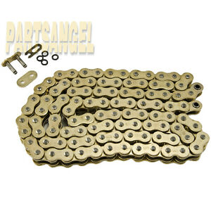 NEW Gold 520x108 O-Ring Chain 520 Pitch 108 Links for motorcycle