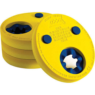 ZOGGS Float Discs x 4 (Age 2 to 6 years) Kids Foam Swimming Armbands 034620
