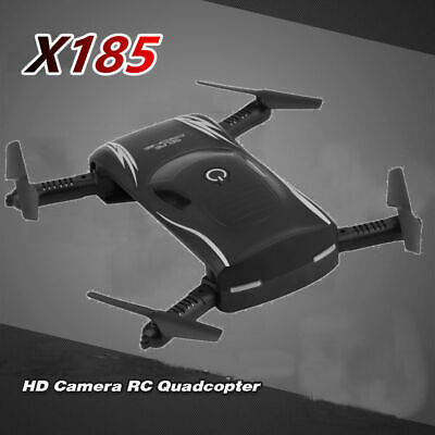 Drone 6Axle X185 Wifi FPV Quadcopter 0.3MP HD Camera GPS Brushless Helicopter