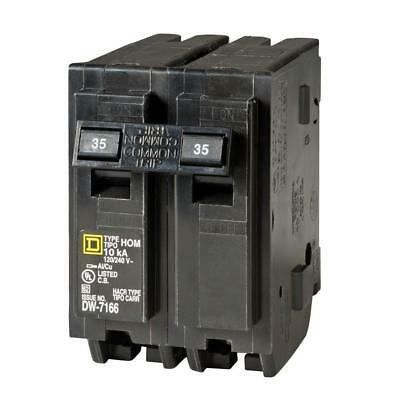 Square D Homeline 35 Amp 2-pole Circuit Breaker Hom235cp