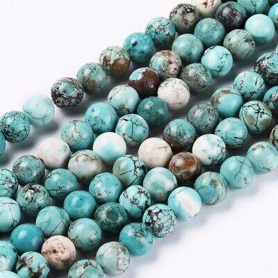 Blue Turquoise Nuggets  Beads  Dark Blue turquoise  Arizona Turquoise  13 long strand  Natural Beads