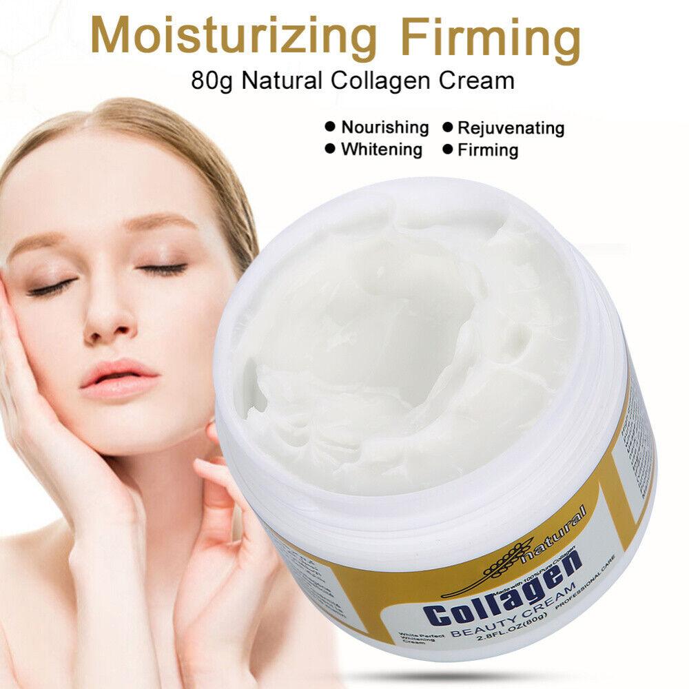 80g natural collagen face cream firming skin