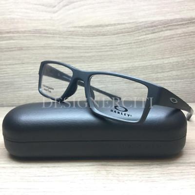 a36e3e2cbf Oakley Airdrop MNP Eyeglasses Satin Black OX8121-0155 Authentic 55mm