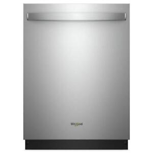 Fingerprint Resistant Stainless Steel dishwaher|Whirlpool WDTA50SAHZ Stainless Steel Tub Dishwasher (BD-1010)