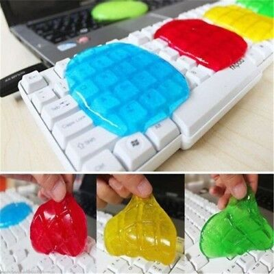 Magic Cleaning Gel Putty Car Keyboard Console Laptop Computer Dust Cleaning DJ8X