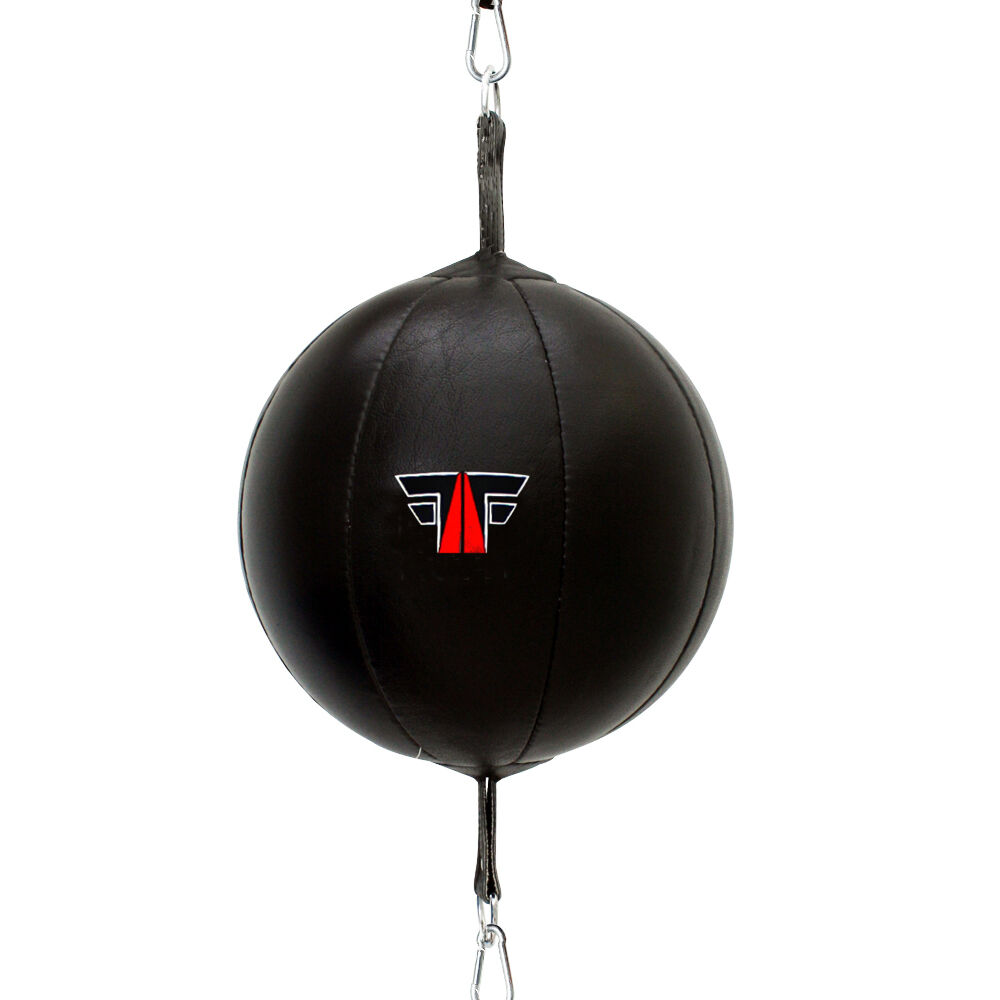 Deba® Doppelendball aus echtem Rindsleder Speedball Boxbirne Schlagbirne