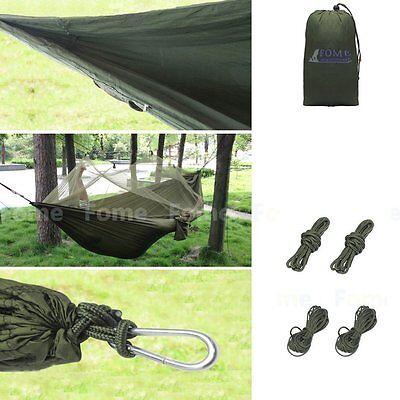 Outdoor Parachute Hängematte Hängesessel Schaukel Camping Reisen mit Moskitonetz