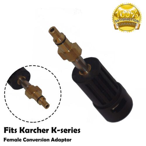 """Adapter Kärcher K Serie Bajonett auf Aldi Workzone Top Craft & DURO PRO 1/4"""""""