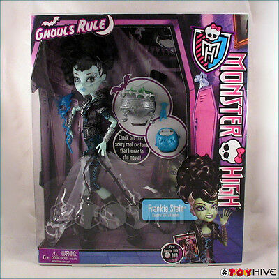 Monster High Ghouls Rule Doll Frankie Stein Frankenstein's Daughter Halloween](Monster High Ghouls Rule Halloween Dolls)