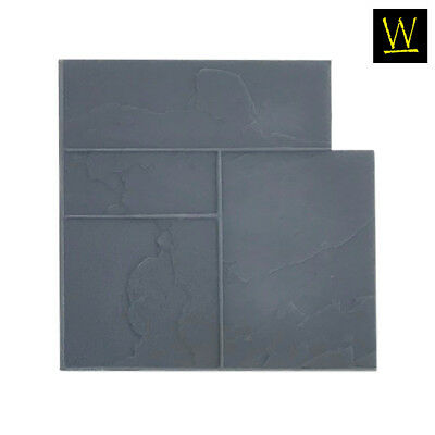 Ashler Notched Slate Single Concrete Stamp By Walttools Floppyflex
