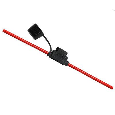 6,0mm² Standard KFZ 4mm Flachsicherungshalter inkl. Kabel