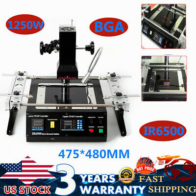 Ir6500 Infrared Bga Soldering Weld Rework Station Heating Repair Machine 110v