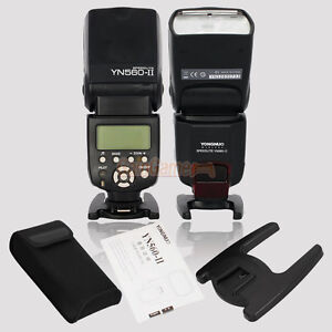 YONGNUO YN-560 II Flash Speedlite for Canon 7D 60D 400D 450D 550D 600D 5D II