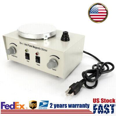 Magnetic Stirrer Digital Hotplate Mixer Stir Stirring Machine W Heating Plate