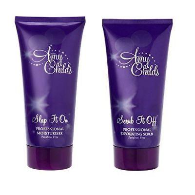Skin Moisturiser And Exfoiliator Scrub Paraben Free Amy Childs Tanning  - Childs, Scrub