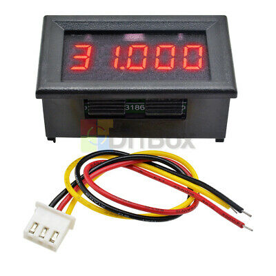 Red 0.36 5-digit Dc 0-33.000v Digital Led Voltmeter Voltage Meter Car Panel