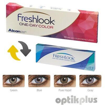 FreshLook One-Day Color - 10er-Pack - Farbige Tageslinsen - [9954]
