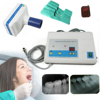 Blx-5 Dental X Ray Machine Portable Mobile Film Imaging Digital Low Dose 110v Us