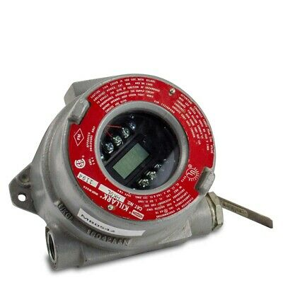 Burns Tli21 Rtd Sensor 0 To 130 C W Killark Hk Exposion Proof Enclosure