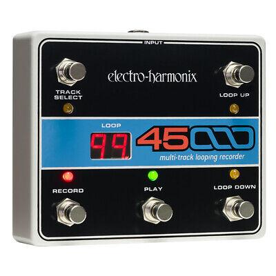 Electro-Harmonix 45000 Multi-Track 99 Looping Recorder EHX Foot Controller