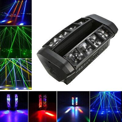 RGBW LED Spider Moving Head Beam Licht DMX512 Bühnenlicht 7/13CH Party Show T6K5