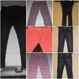 Bundle of 14 Items of Girls 5 - 6 Years Clothes