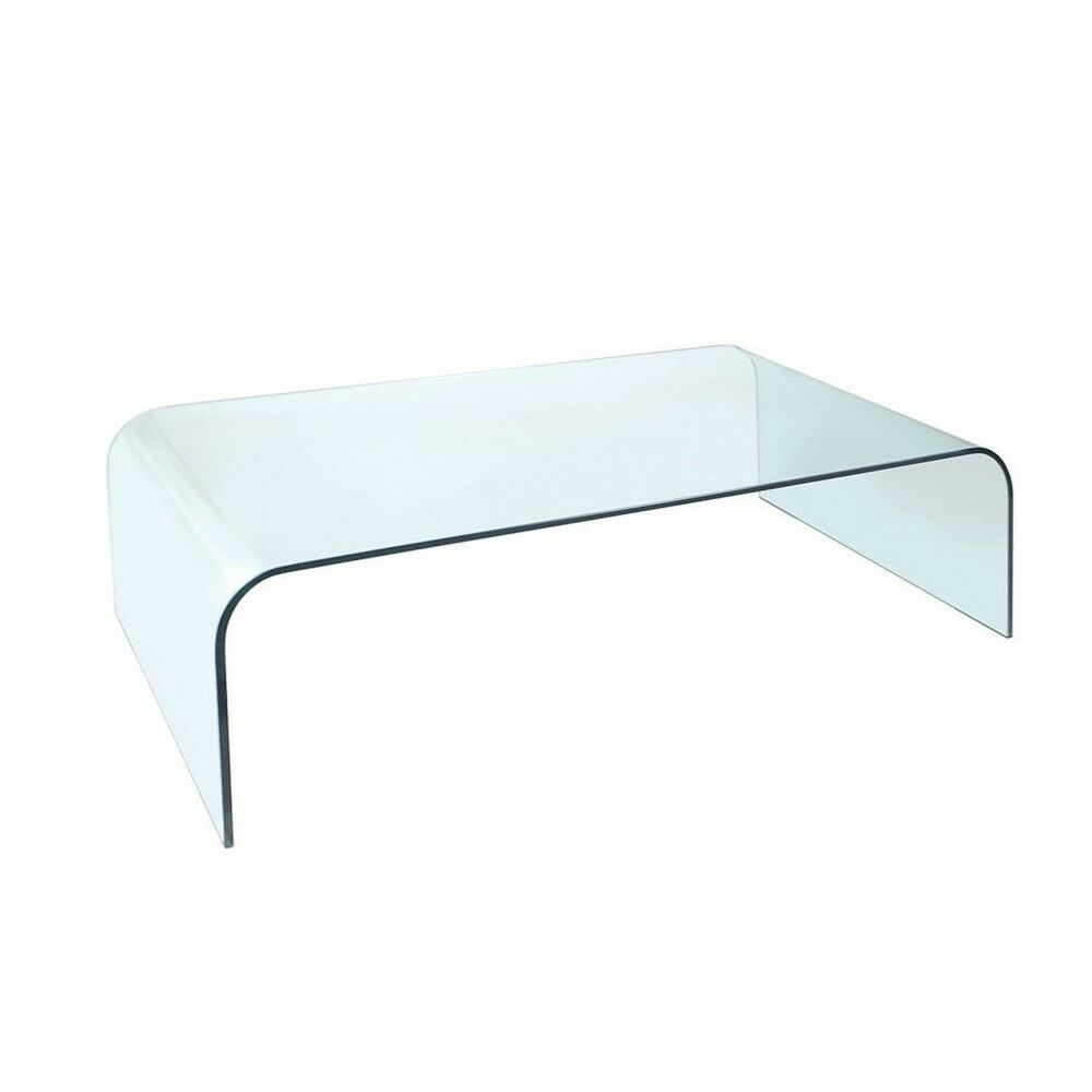 Glass Coffee Tables Gumtree: Ponsford Curved Glass Coffee Table