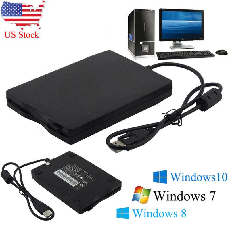 "3.5""USB 2.0 Data External Floppy Disk Drive 1.44MB For Laptop PC Win 7/8/10 Mac"