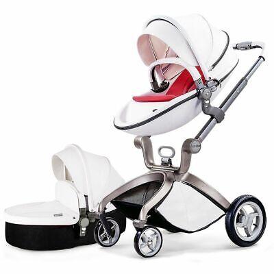 3 in1 Bagong panganak na Baby Pram Car Seat Pushchair Travel System Buggy Stroller BAGONG