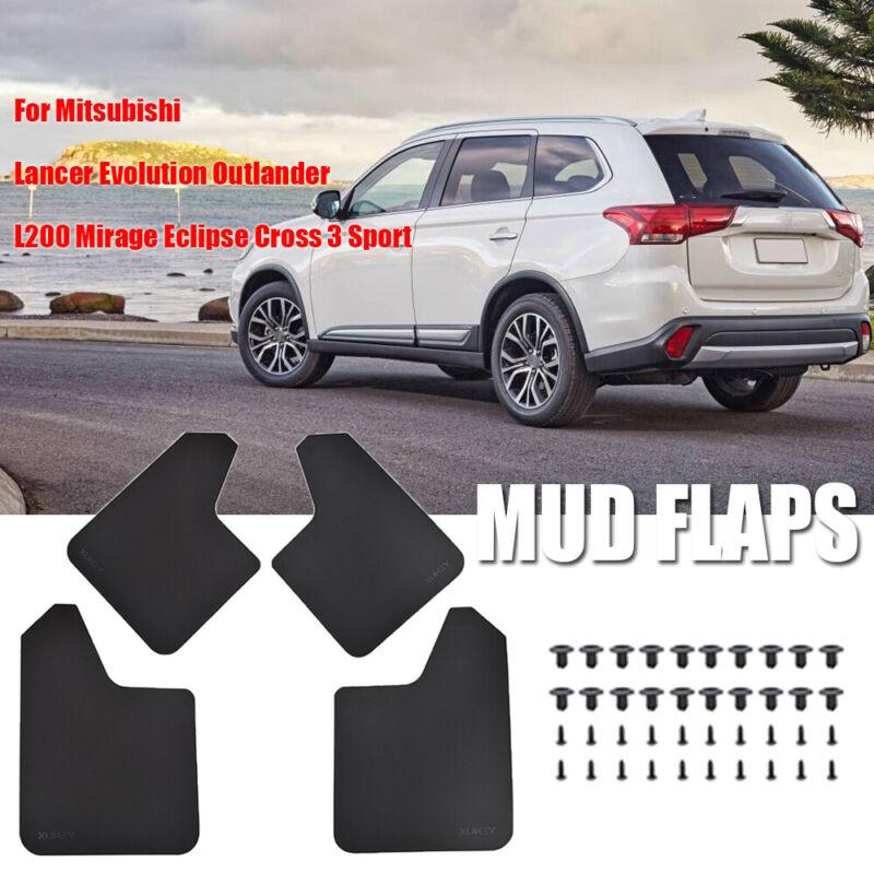 4pcs Mud Flaps Splash Guard for Mitsubishi Outlander 2006 2007 2008 Front /& Rear