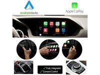 Apple CarPlay Interface Retrofit Install Factory Screen Audi BMW Porsche Mercedes Range Rover Lexus