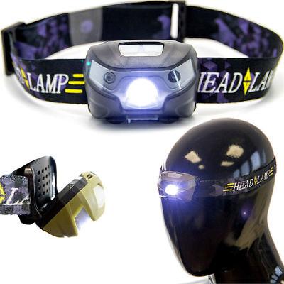 LED Kopflampe Stirnlampe Sport Fahrrad Joggen laufen Handwerker Taschen Lampe (Handwerker Taschenlampe)