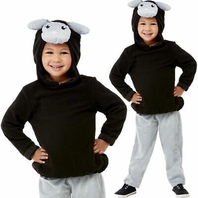 Kleinkind Schwarz Schaf Kostüm Kinderzimmer Reim Kostüm Outfit Alter 1-4