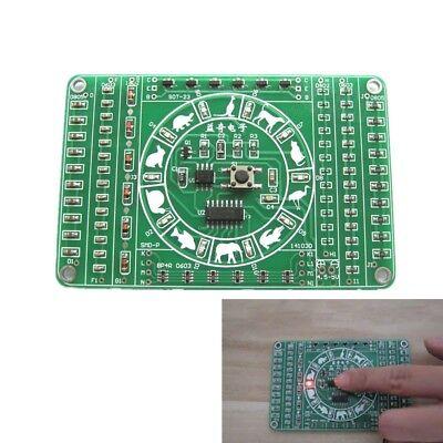 Smd Electronic Component Welding Practice Board Pcb Soldering Diy Kit Dc 4.5-5v