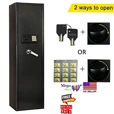 Electronic 5 Rifle Gun Safe Large Firearms Shotgun Storage Cabin FREE DELIVERY