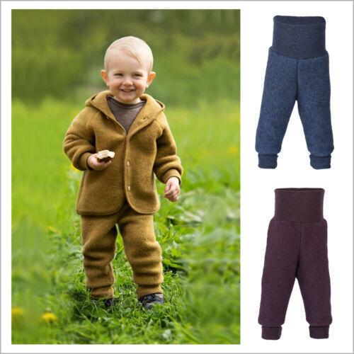 ENGEL Baby Wool Fleece Pants for Boys and Girls, 100% Organic Merino Wool, NB-1Y