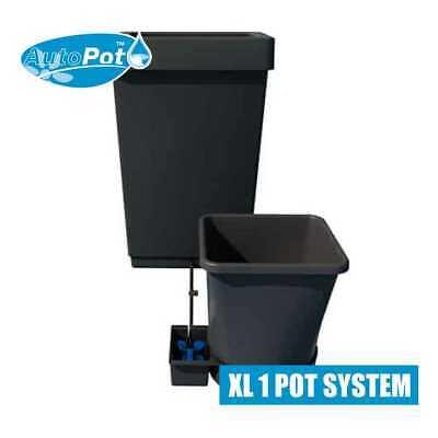 AutoPot XL 1pot System. In Black. 47 Litre Tank, 25 Litre Pot, 9mm Pipe.