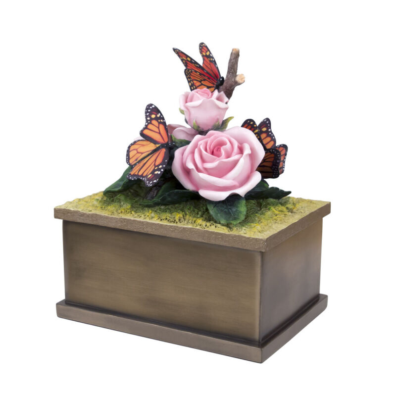 Perfect Memorials Small Butterfly Cremation Urn