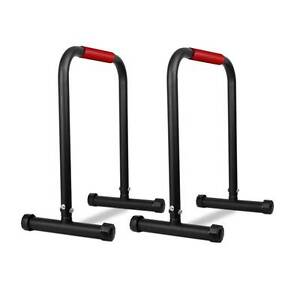 Free Delivery: Fitness Chin Up Dip Parallel Bars Black Homebush Strathfield Area Preview