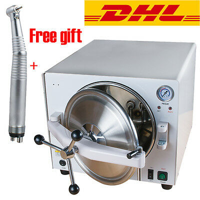 18l Medical Autoclave Steam Sterilizer Dental Lab Sterilizers Equipment Gift