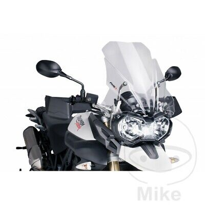 PUIG CLEAR TOURING SCREEN  WINDSHIELD TRIUMPH TIGER 800 2013