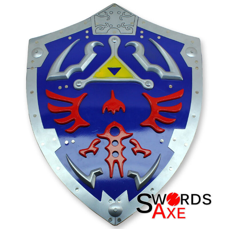 Zelda Triforce Shield - Link Video Game Awakening Time Legend Of Ocarina Hylian