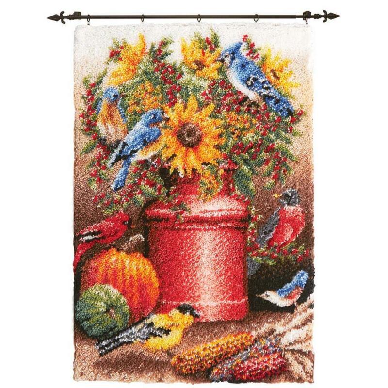 Herrschners® Harvest Still Life Latch Hook Kit