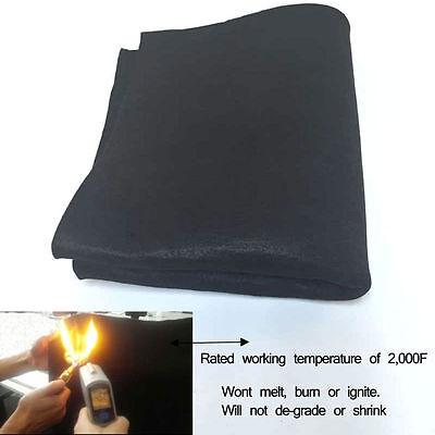 Carbon Fiber Welding Blanket Torch Heat Shield Plumbing 6mm Thickness All Size