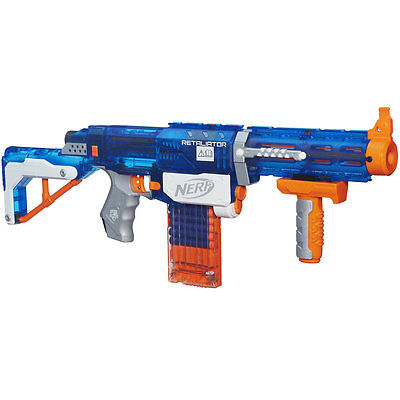 Nerf Elite Sonic Ice Retaliator Blaster, Kids Indoor Outdoor Blaster Toy Gun